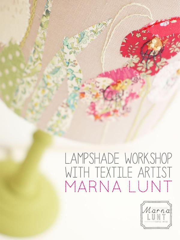 designer maker : lampshade workshop with Marna Lunt | Emma Lamb