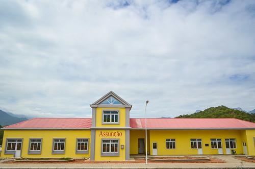 New railway station of Assunção