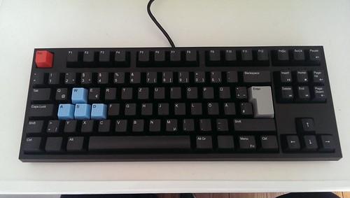 WASD Keyboard - Ausgepackt