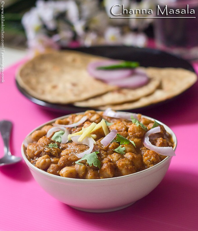how to make channa masala