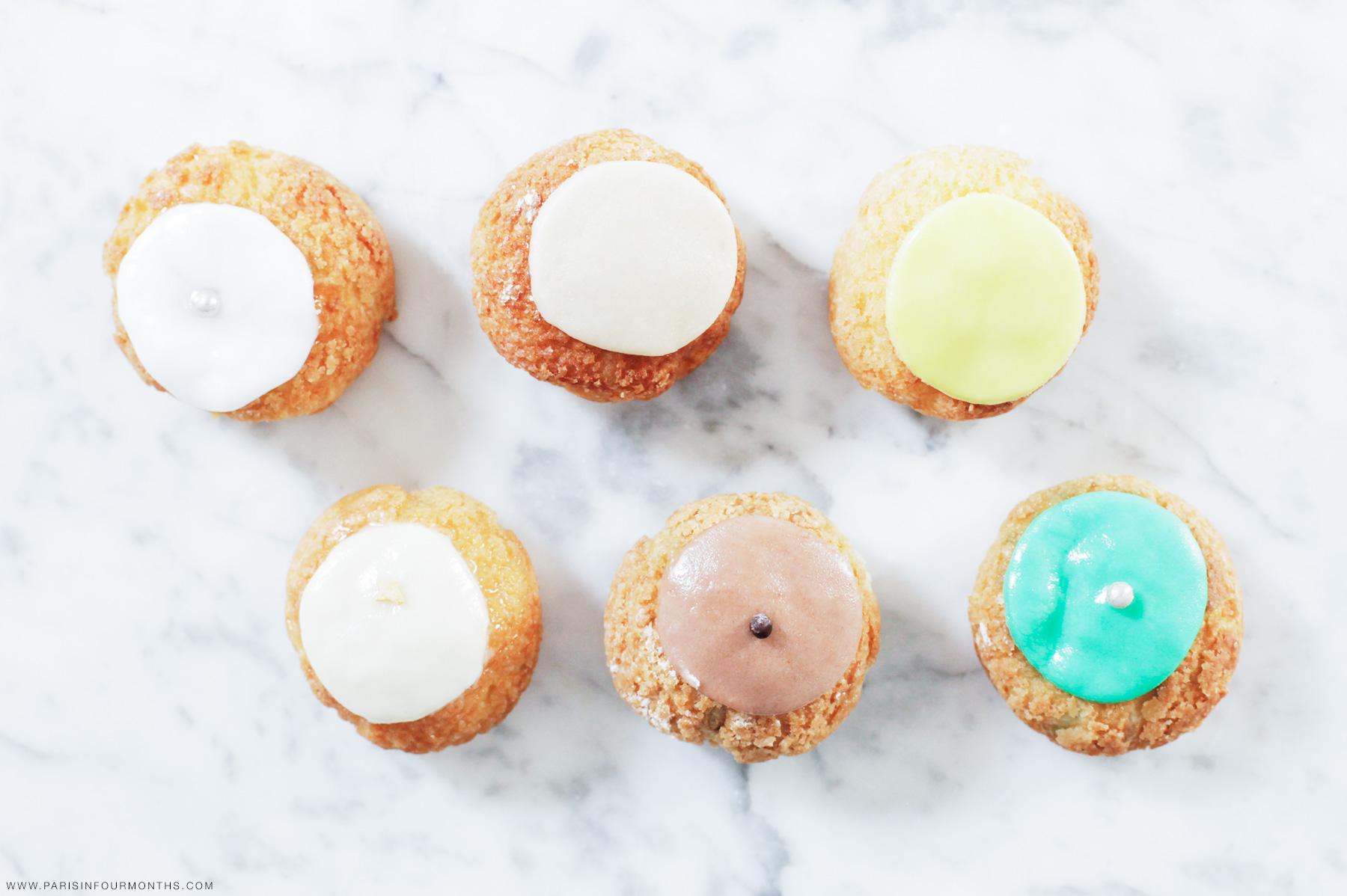Cream puffs by Carin Olsson (Paris in Four Months)