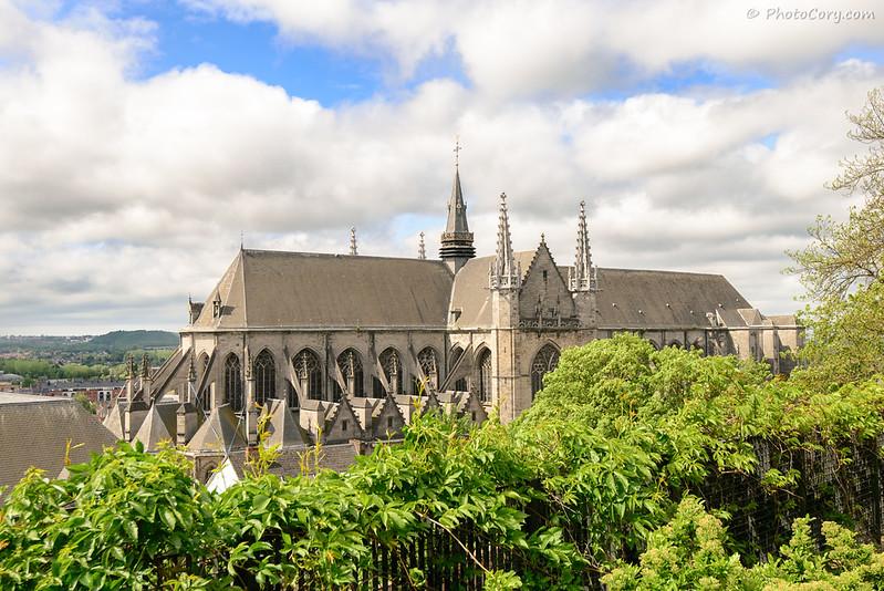 Waudru Church in Mons, Belgique