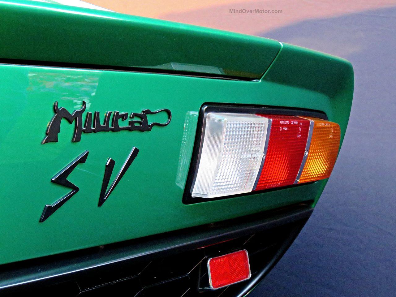 Lamborghini Miura SV PoloStorico Restoration 7