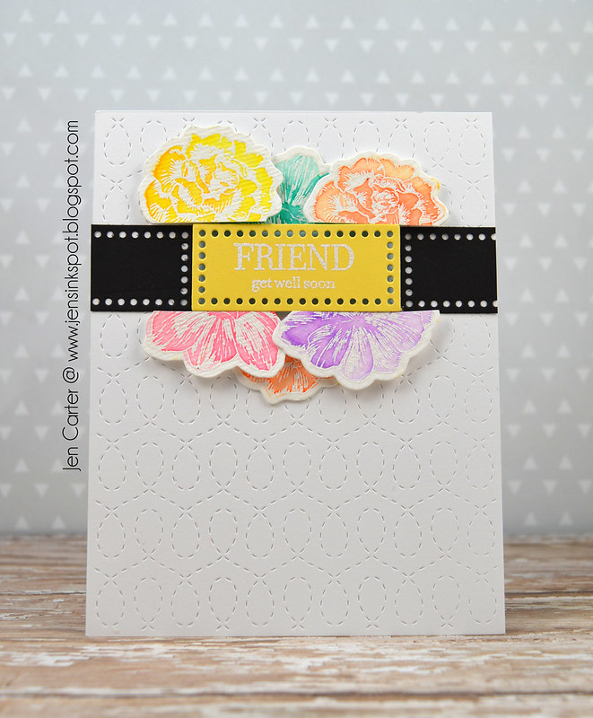 Jen Carter Vintage Flowers Friend Get Well 1