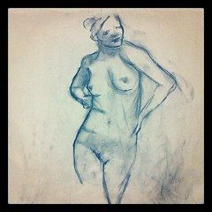 One of tonights life drawings