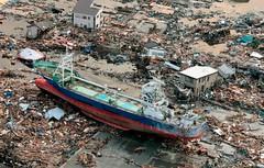 311 海嘯過後 滿目瘡痍