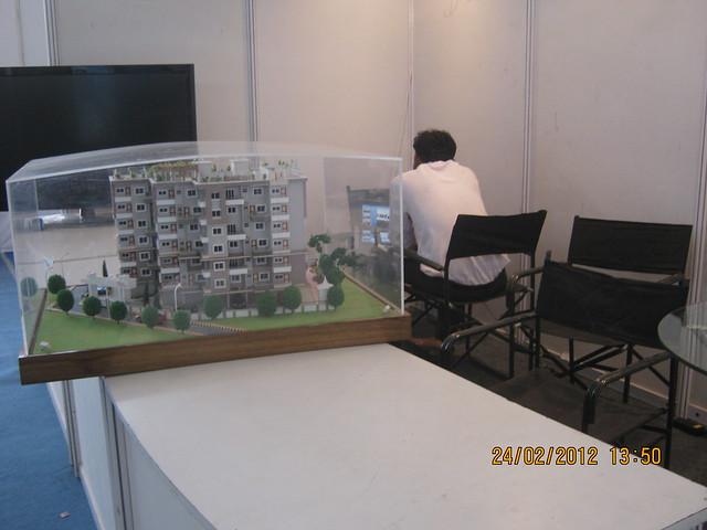 Busy Builder - Visit Sakal Gudi Padwa Gruhotsav 2012, New Agriculture College Ground, Range-Hills, Sinchan-Nagar Pune 411 020
