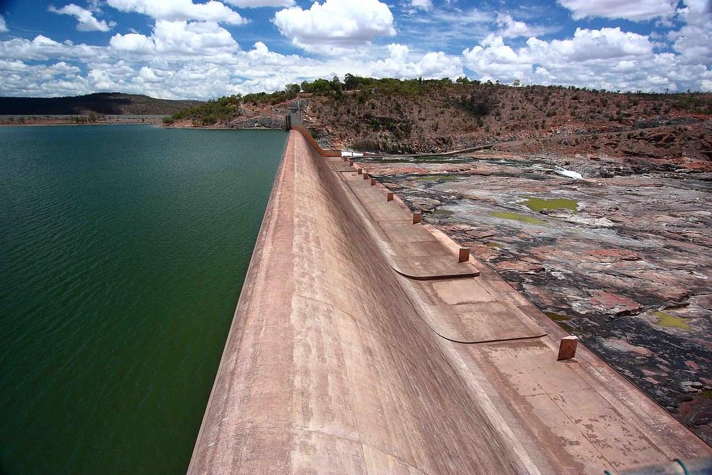 Burdekin Dam Queensland Burdekin Dam Nature