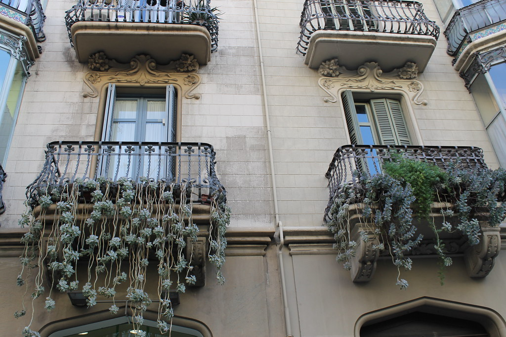 Balcones barri de Gràcia