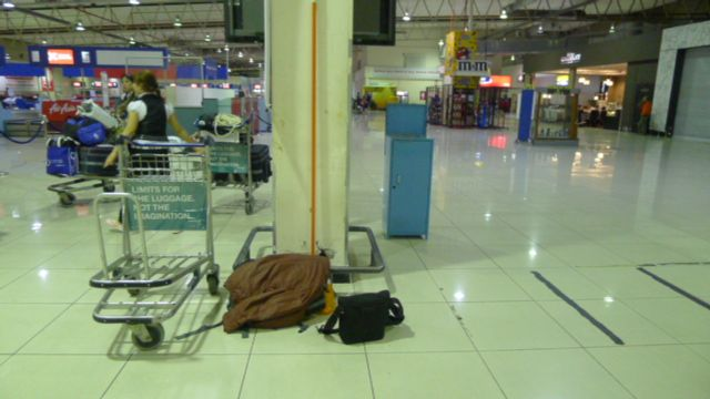 China Trip: Overnight At KLIA LCCT Terminal