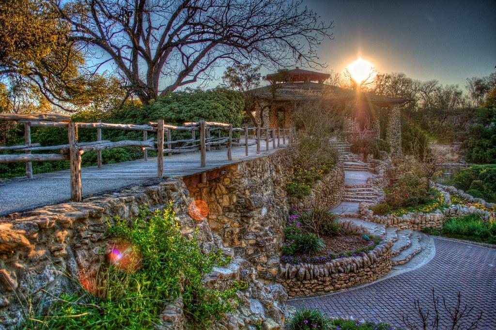 Japanese Tea Garden San Antonio A Photo On Flickriver