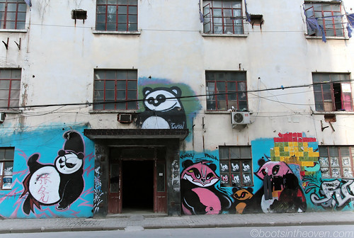 Street art at m50