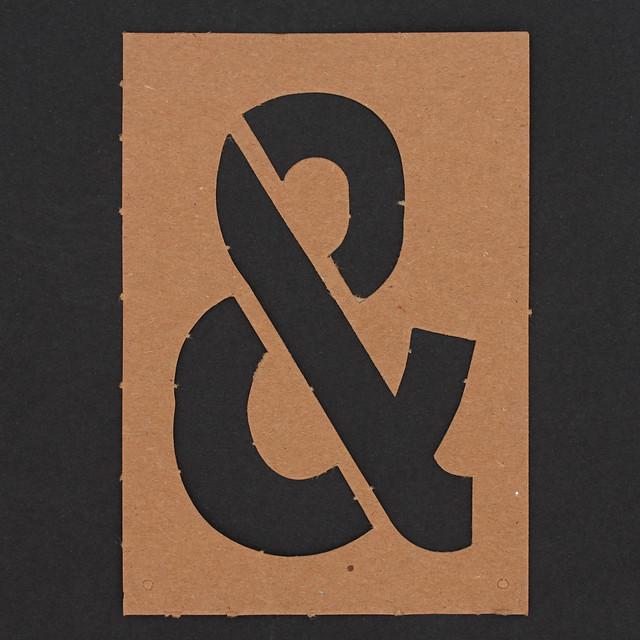 Stencil Symbol Ampersand
