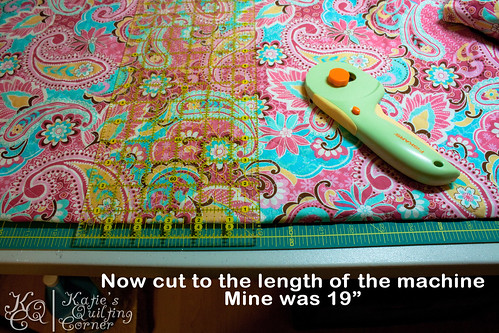 Sewing Machine Mat Tutorial