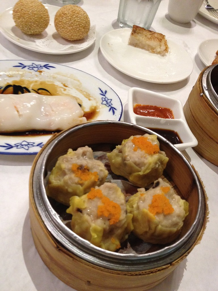 Assorted Dim Sum at Triple Crown Restaurant