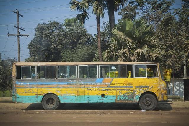 On the Road, Dhamrai, Bangladesh