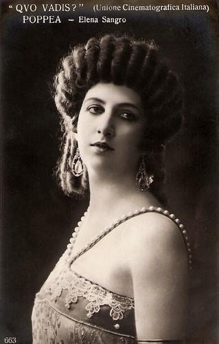 Elena Sangro in Quo vadis