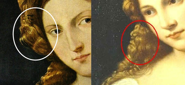summer art exhibit in Rome Titian comparisom