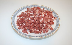 02 - Zutat Speckwurfel / Ingredient bacon