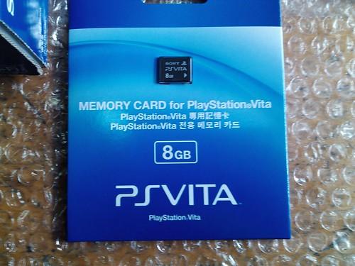 PSV专用存储卡8G
