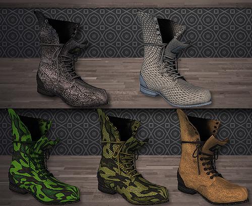 Reila Skins - Trendz Boots colors