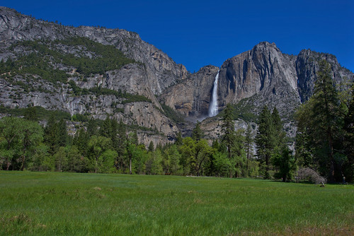 Upper Yosemite Fall in Spring