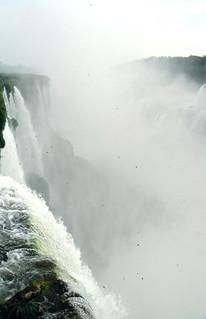 Niebla en Iguazú