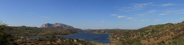 Manchinbelle Dam Panorama