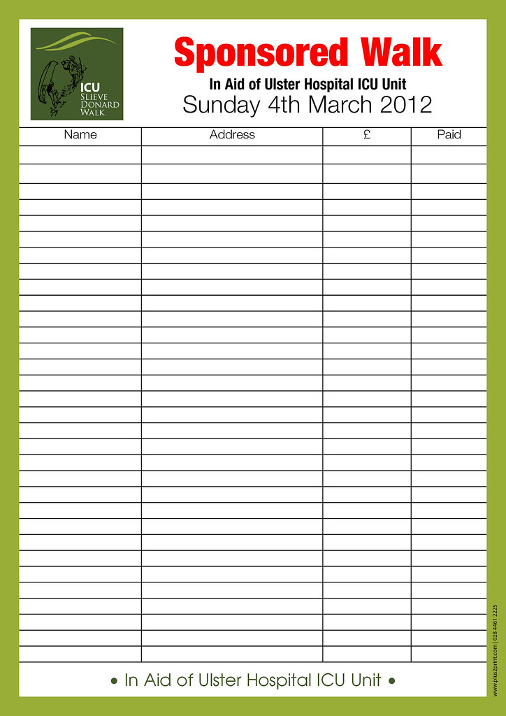 Doc12401754 Sponsored Walk Form Template Free Sponsorship – Sponsored Walk Form Template