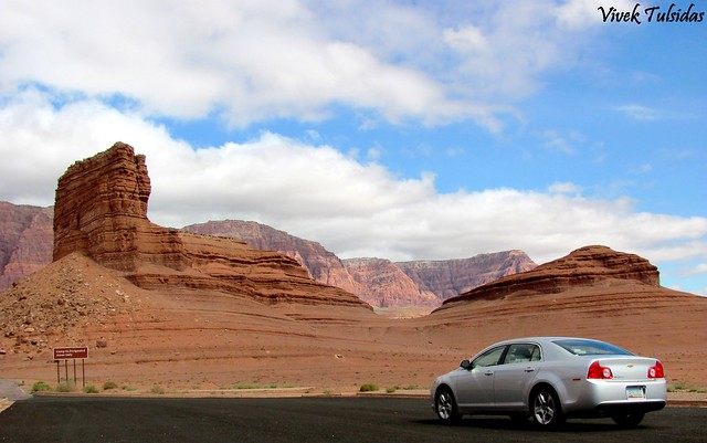 Driving in Canyonlands -2
