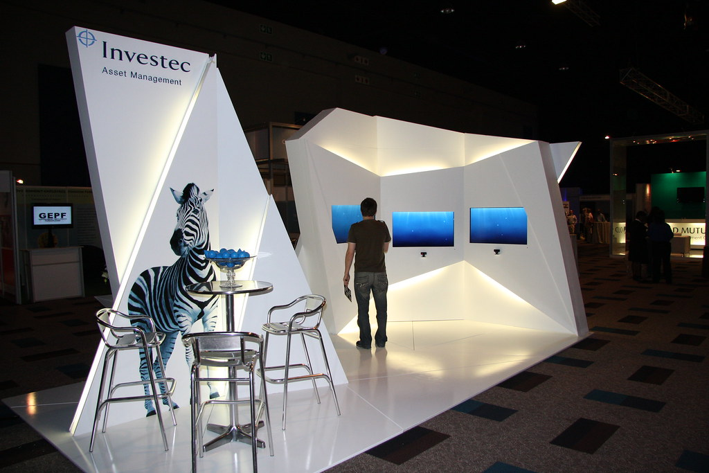 Marketing Exhibition Stand Years : Investec exsa stand of the year award xzibit i experiential