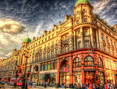 Regents street . London HDR