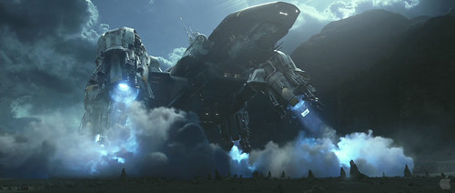 Prometheus Trailer2 - Landing Effects