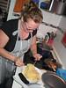 Anna Mayer con los espaguetis a vueltas by De rechupete
