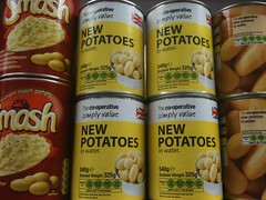 Tinned Potatoes