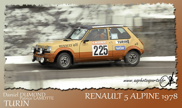 rallye monte carlo historique 2012 renault 5 alpine 1978 flickr photo sharing. Black Bedroom Furniture Sets. Home Design Ideas