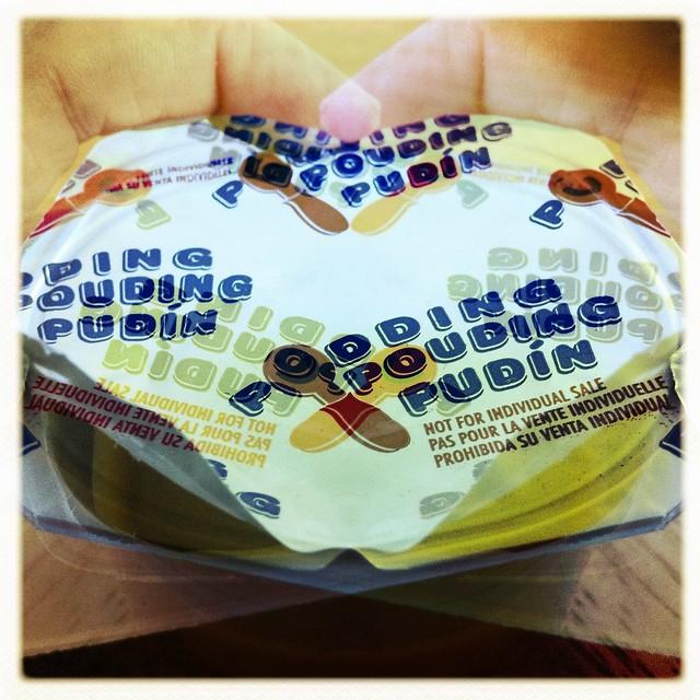 pudding pouding pudín