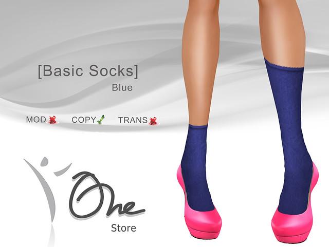 [Basic Socks] B