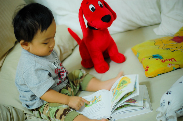 Yllac and Clifford, Bible Study Buddies