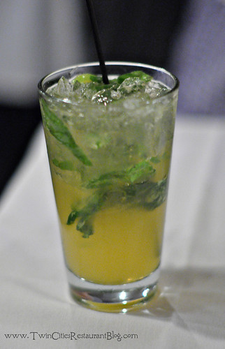 Mojito at Acqua Restaurant ~ White Bear Lake, MN