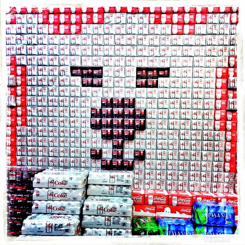 284/365- Coke bear by elineart