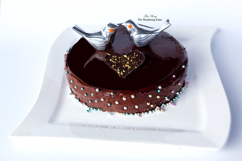 My homemade Carrément Chocolat Cake