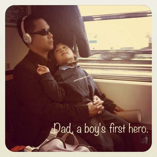 dad, son's first hero