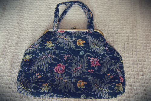 chantilly vintage purse