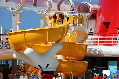 Mickey hand slide