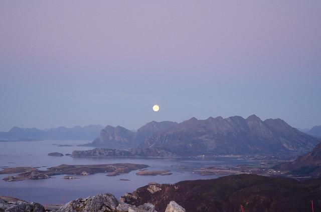Full moon in Desember