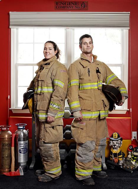 Firefighting Couple