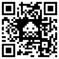 QRcode  viral Space Invaders