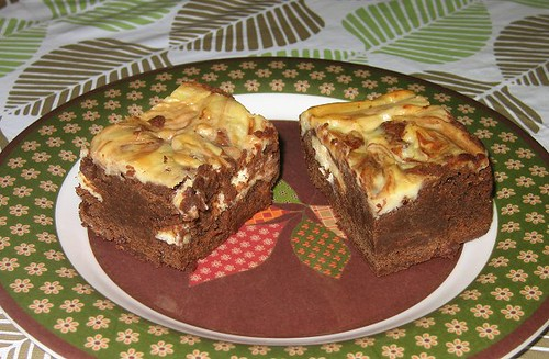 Cream Cheese Brownies from Baking Illustrated. by Leenechan