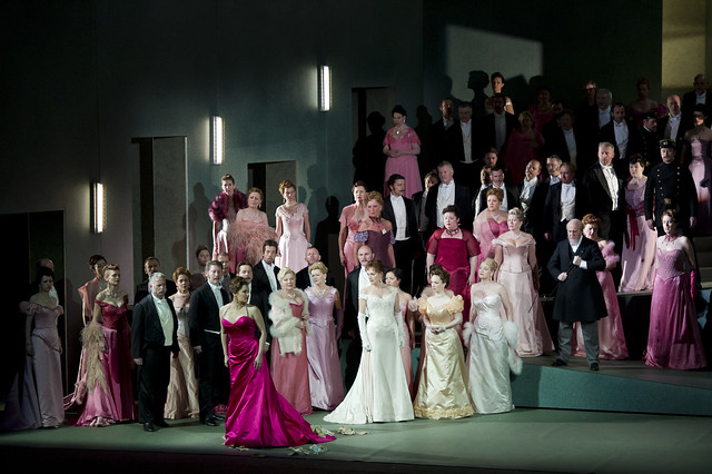 The cast of The Royal Opera in Manon © Bill Cooper/ROH 2010